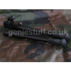 Folding Metal Bipod with 20mm Weaver mount